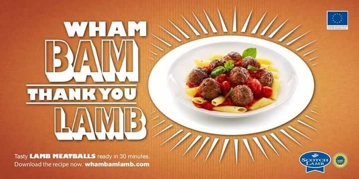WhAm BaM… For FreSh Cut'S oF LamB, PoP…