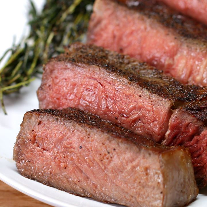 #ribeye  #steakSteak With Garlic Butter…