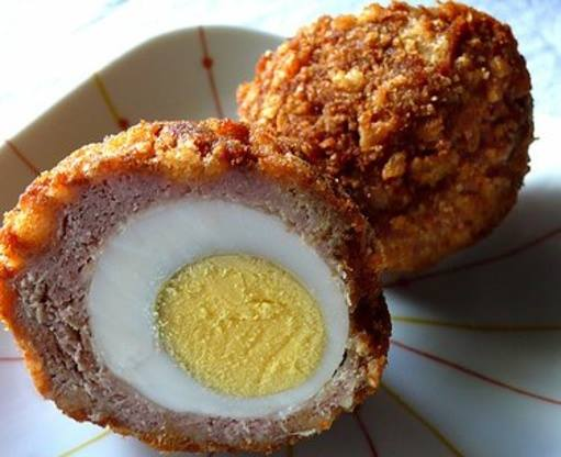 We Will have freshly made scotch eggs to…