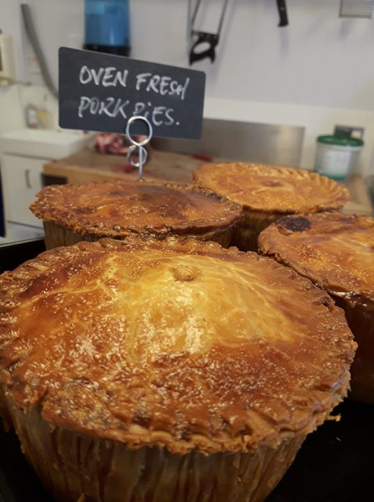 Homemade Pork pies, fresh out the Oven…..